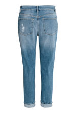 Boyfriend Slim Low Jeans - Denim blue trashed - Ladies | H&M 3